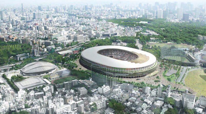 Stadion in Tokyo