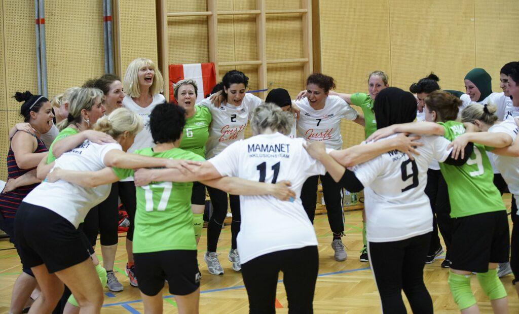 Spielerinnenkreis Nationale Meisterschaften Cachibol