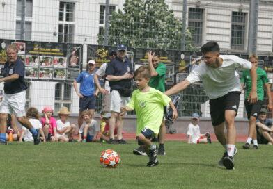 Fußballschule auf Rio-Art