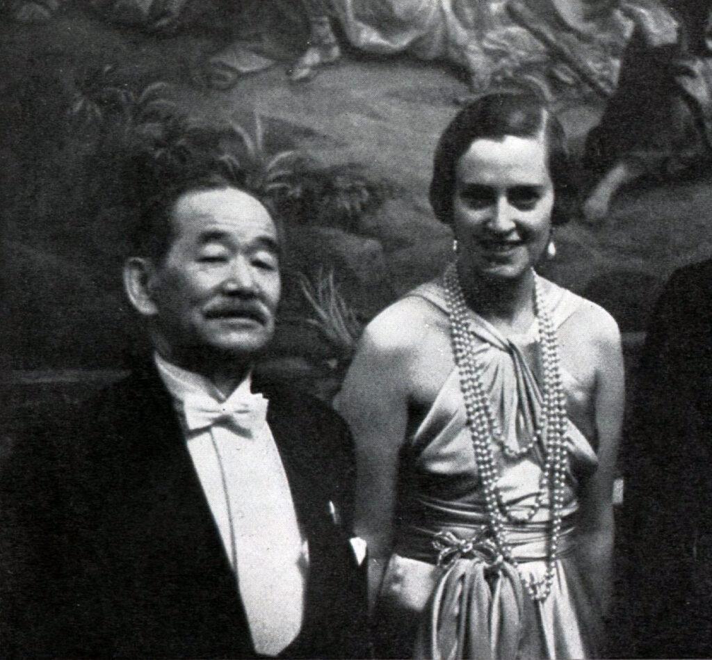 Jigoro Kano und Fürstin Ulrich Kinsky