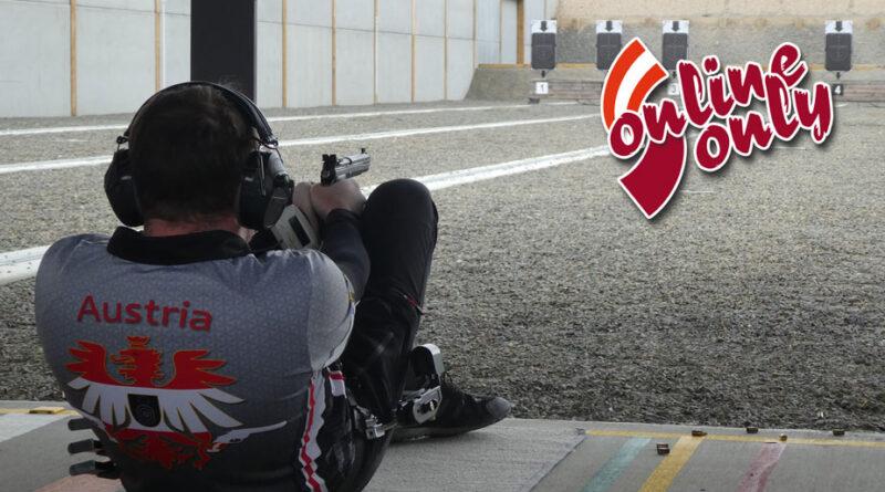 Schütze beim Schießen