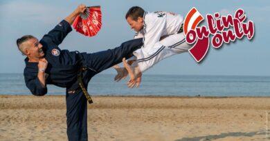 Zwei Hapkido-Kämpfer