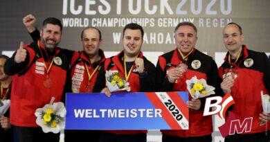 Medaillenregen für Österreich bei der Eisstock-WM