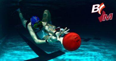 Unterwasserrugby – Wer gerne im Wasser ist, gerne rauft und Ballsport mag ist hier goldrichtig.