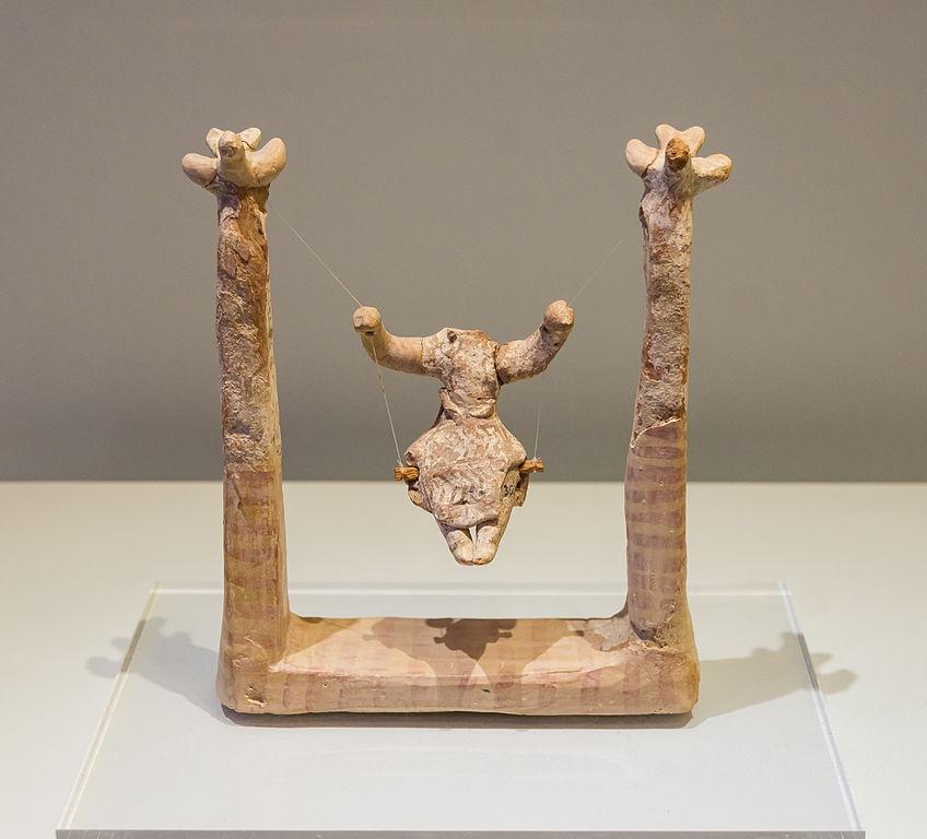 Eine alte Skulptur