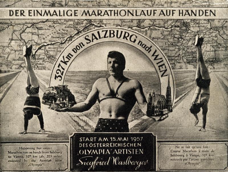 Gedenkpostkarte von Siegfried Waslberger