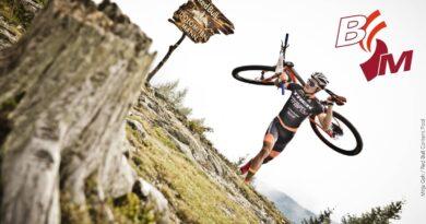 Extremsport hoch vier in den Dolomiten
