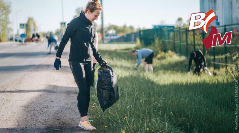 Plogging, oder wie man laufend etwas für die Umwelt tut