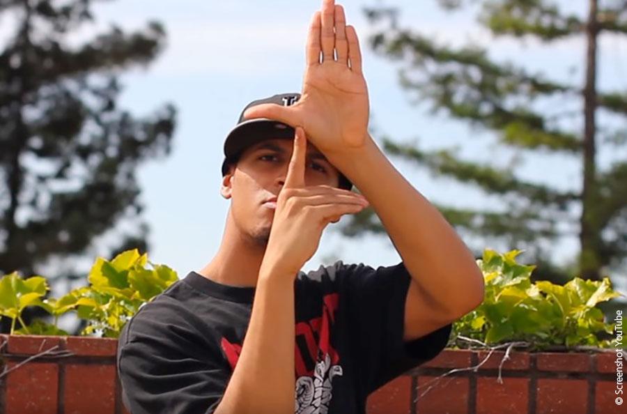Jay Funk beim Finger Tutting