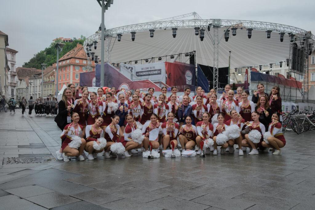 Die Milleniumdancers bei den Sport Austria Finals in Graz
